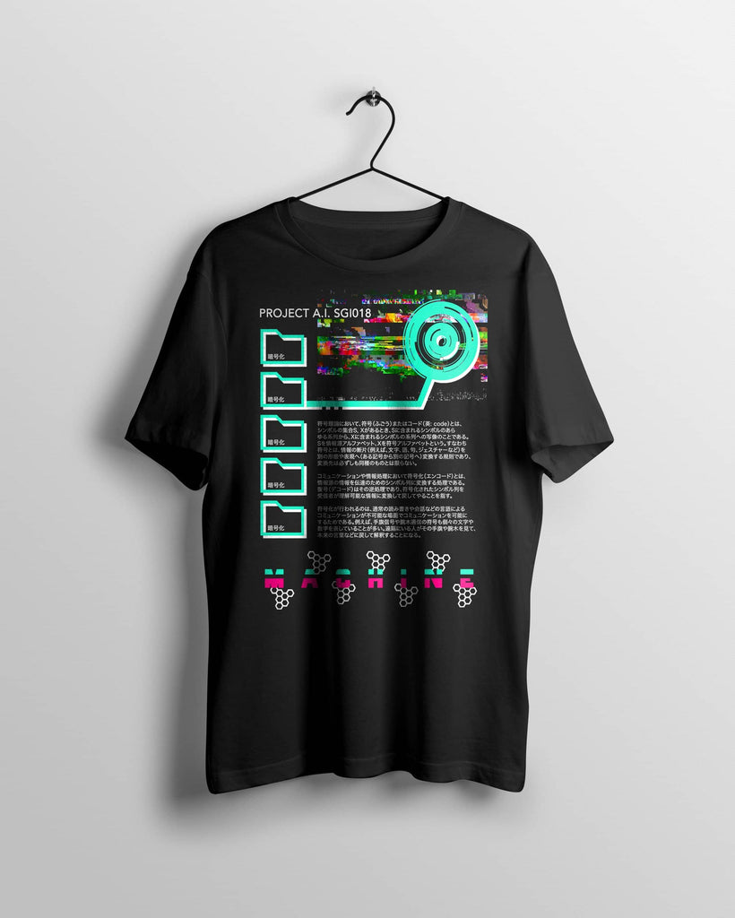 Japanese Cyber Punk Anime T Shirt