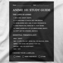 Study Guide (Unisex T-shirt)