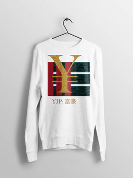 YJP Gucci Inspired Japanese Street Style Sweatshirt