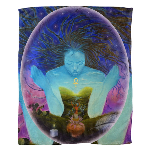 Sacred Woman Collection Fleece Blankets