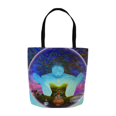 We are The Woman We are The Healers Tote Bags