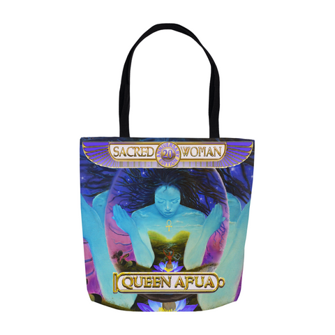 "20th Anniversary Sacred Woman ""We are The Woman We are The Healers"" Tote Bag"