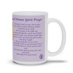 20th Anniversary Sacred Woman Prayer Mug