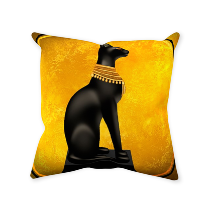 Bastet Throw Pillows
