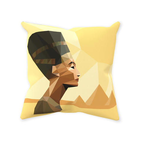 Nefer Throw Pillows