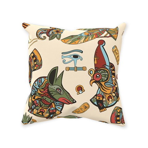 Kemetic Icon Throw Pillows