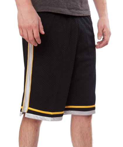 JJB Soccer - Basketball - Athletic - Elastic Waist Elongated Mesh Youth Short