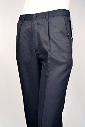 THINK Golf, Micro Fiber Casual Mens Dress Pants, Dual Pocketed, One Pleat