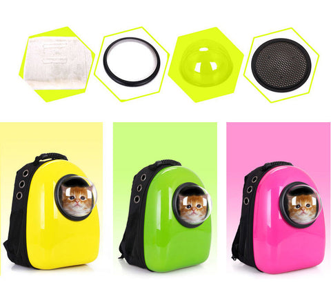 Luxurious Space Capsule Cat Carrier