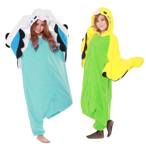 Adult Unisex Budgie Onesie: FREE SHIPPING