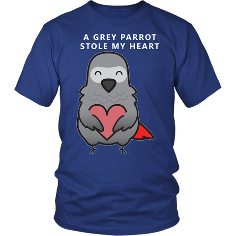 A Grey Parrot Stole My Heart