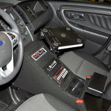 Ford Police Interceptor Sedan (2013+) Police Equipment Console - Contour, Patrol Upfitters, Police, Public Safety