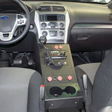 Jotto Desk 2016+ Ford Police Interceptor Utility Police Equipment Console - Contour, Patrol Upfitters,