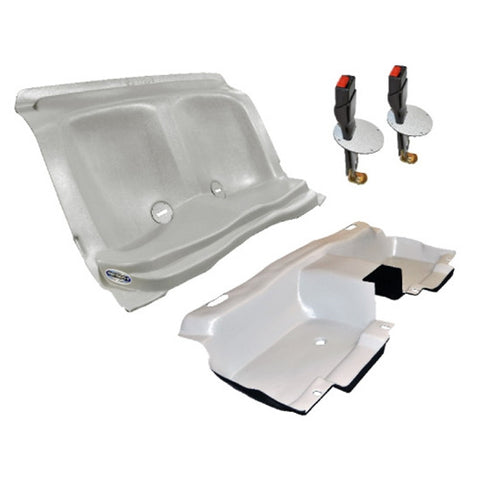 Charger Bio-Seat, Floor Pan & Seat Belt Extenders Set