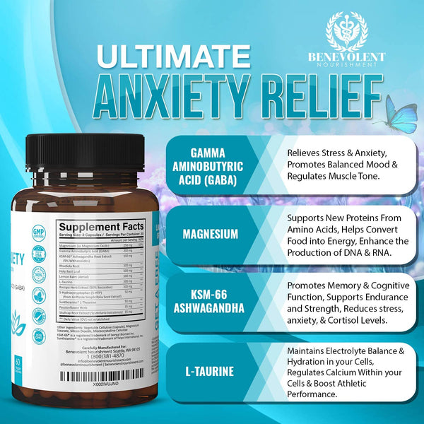 Anxiety and Stress Relief Supplement