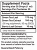 Liquid Green Tea Extract (2 oz) - Benevolent Nourishment Shop