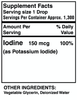 Liquid Iodine (2 oz) - Benevolent Nourishment Shop