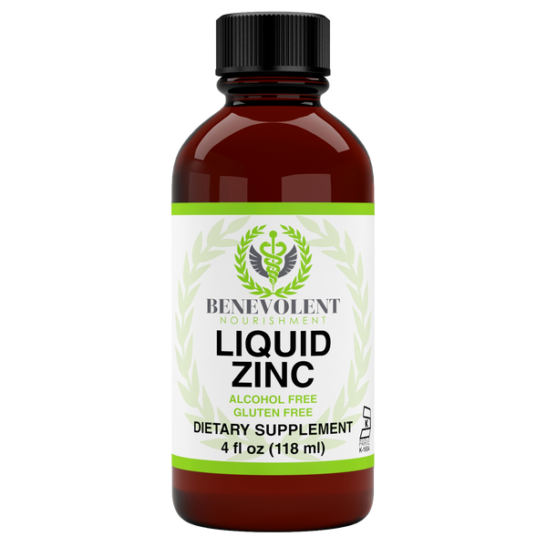 Liquid Zinc (4 oz) - Benevolent Nourishment Shop