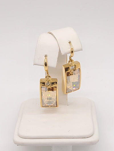 Annaleece Gold Sunshower Earrings - #shop_name