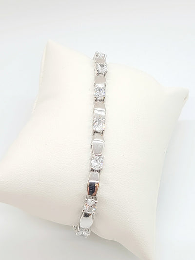 Annaleece Swarovski with Silver Plated Bracelet - #shop_name