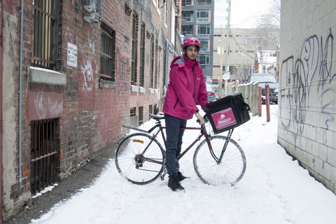 Foodora Winter Rider