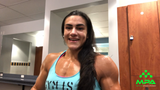 IFBB Pro Natalia Coelho talks about her nutrition and supplements as she preps for Mr. Olympia