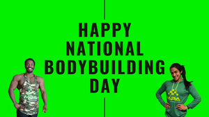 Happy National Bodybuilding Day