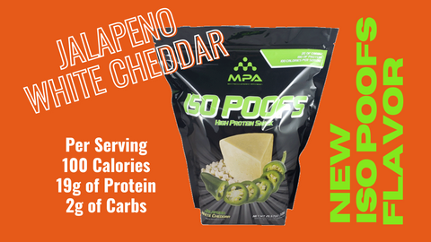 Jalapeno White Cheddar Iso Poofs