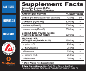 MPA Supps Pharmgrade supplement facts