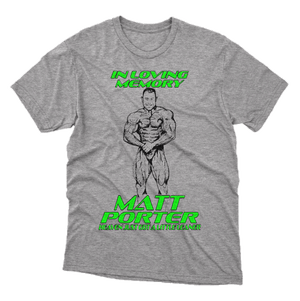 Matt Porter Memorial T-Shirt - MPA Supps