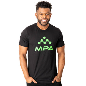 Unisex Jersey T-Shirt Black - MPA Supps