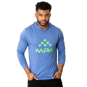 Unisex Triblend Long-Sleeve Hoody - MPA Supps