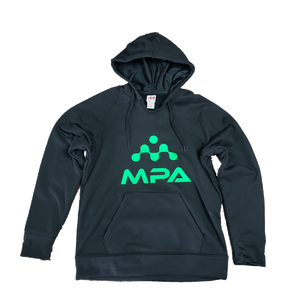 Ladies' Tech Fleece Hoodie Black - MPA Supps