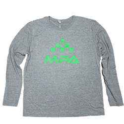MPA Logo Triblend Long Sleeve Crew