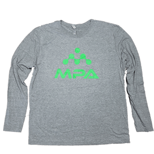 Triblend Long Sleeve Crew - MPA Supps