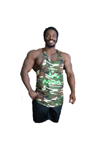 MPA Supps Camo Stringer Tank Top