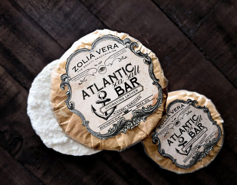 Atlantic Bar | Sea Salt Soap