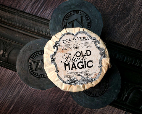 Old Black Magic Bar | Peppermint Charcoal Soap