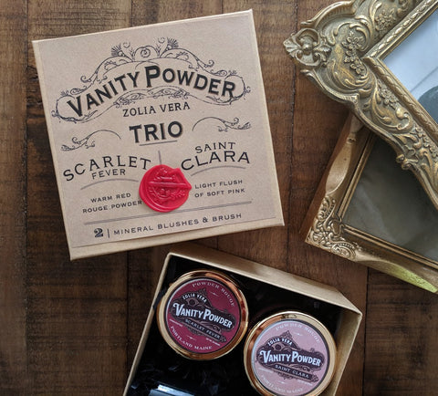 Vanity Powder Trio