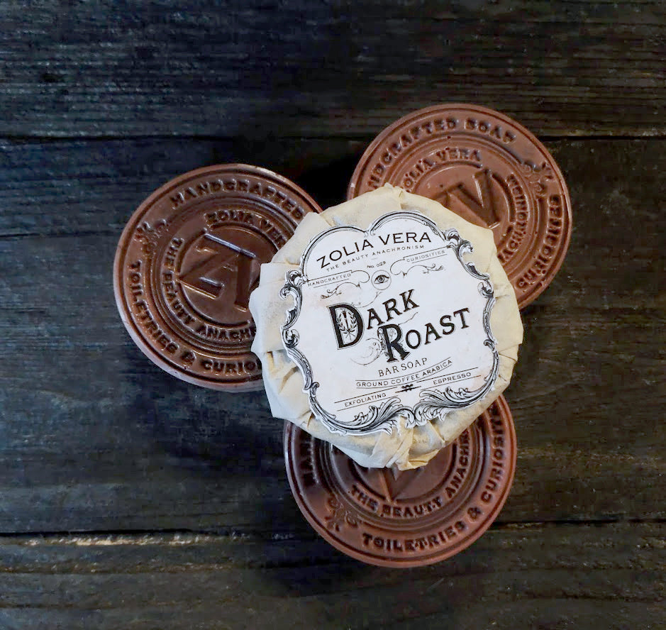 Dark Roast Bar | Caffeinated Coffee Soap