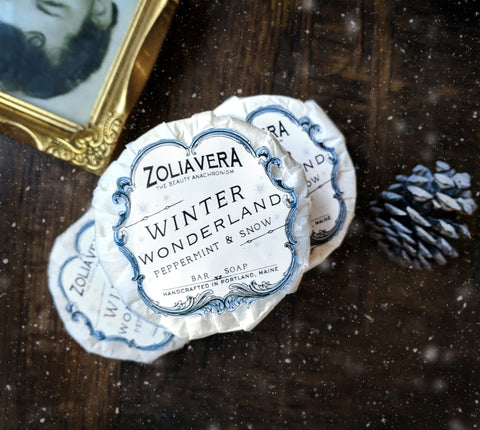 Winter Wonderland Bar | Peppermint & Snow