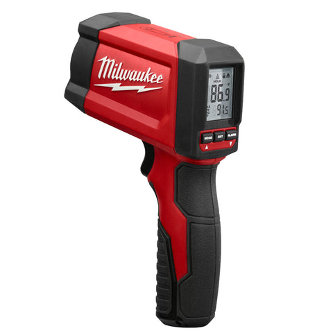 12:1 Infrared Temp Gun 9-Volt NIST Certified, Milwaukee Brand 2268-20NST
