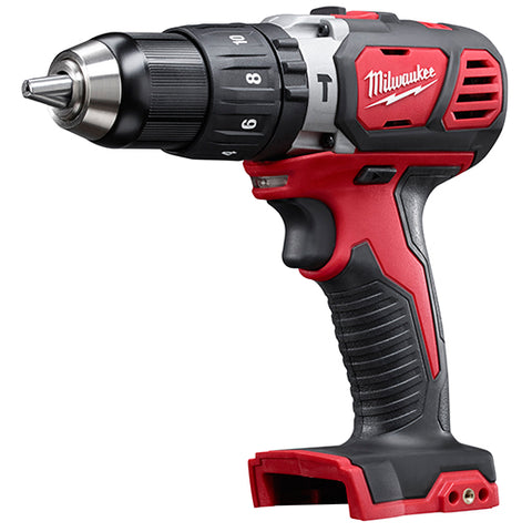 "Milwaukee 2607-20 M18 1/2"" Compact Hammer Drill/Driver (Tool Only)"