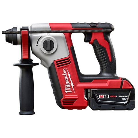 "Milwaukee 2612-21 M18 Cordless 5/8"" SDS Plus Rotary Hammer Kit"