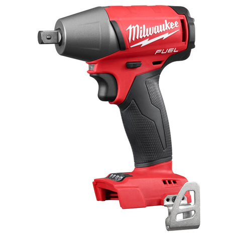 "Milwaukee 2755-20 M18 FUEL Cordless 1/2"" Impact Wrench w/Pin Detent Bare Tool"