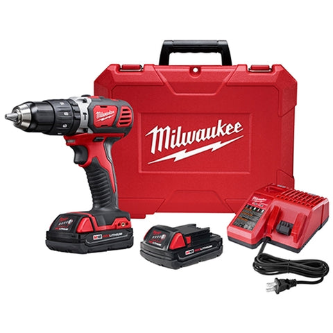 "Milwaukee 2607-22CT M18 1/2"" HAMMER DRILL CP KIT"