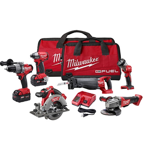 Milwaukee 2796-26 M18 FUEL 6-Tool Combo Kit
