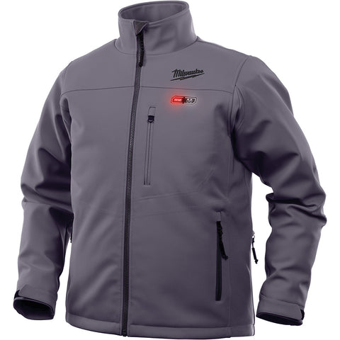 Extra Large Gray Heated Jacket Only, Milwaukee Brand P/N 201G-20XL