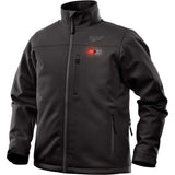 Double Extra Large Black Heated TOUGHSHELL Jacket only, Milwaukee Brand P/N 202B-202X