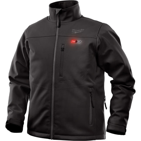 Small Black Heated TOUGHSHELL Jacket only, Milwaukee Brand P/N 202B-20S